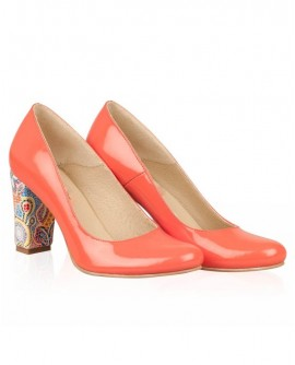 Pantofi din piele naturala N79 - orice culoare