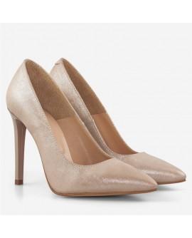 Pantofi dama din piele naturala D54 - orice culoare