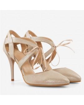 Pantofi dama din piele naturala D55 - orice culoare