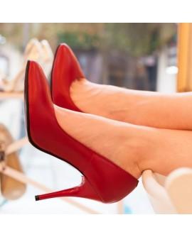 Pantofi dama din piele naturala D61 - orice culoare
