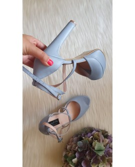 Sandale Dama Piele Clara box bleu   C7 -pe stoc