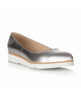 Balerini Piele Argintiu Sabi S1 - orice culoare