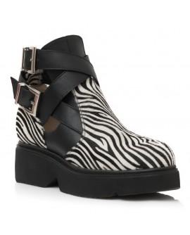 Ghete Dama Piele Modele Zebra E4 - orice culoare