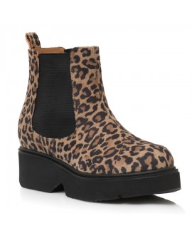Ghete Dama Piele Animal Print Leopard E10 - orice culoare