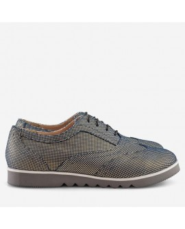 Pantofi Piele Oxford Bleumarin Bristol - Orice culoare