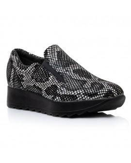 Pantofi Confort Piele Tip Sarpe V27 - orice culoare