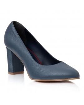 Pantofi Dama Piele Bleumarin April T30 - Orice Culoare