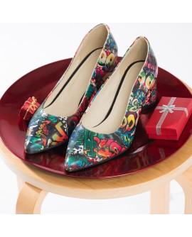 Pantofi Piele Color Street Fashion V60 - orice culoare