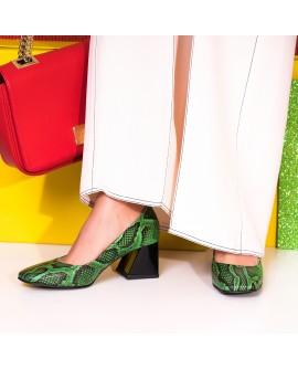 Pantofi Comod Piele Intoarsa Corai C59 - Orice Culoare - orice culoare