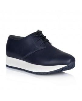 Pantofi Dama Sport Piele Bleumarin V24 - orice culoare