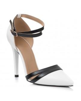 Pantofi Stiletto Black & White  L43- disponibili pe orice culoare