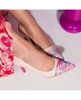 Pantofi Stiletto Piele Nude Dalia C54  - orice culoare