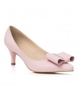 Pantofi Mini Stiletto Funda Piele Nude C62- orice culoare