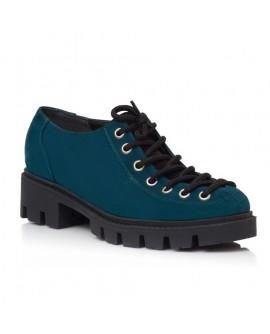 Pantofi Talpa Bocanc Piele Albastru Marin V70 - orice culoare