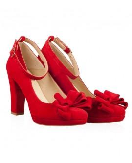 Pantofi din piele naturala N48 - orice culoare