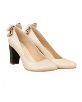 Pantofi din piele naturala N62 - orice culoare