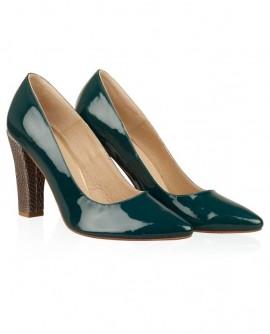 Pantofi din piele naturala N71 - orice culoare