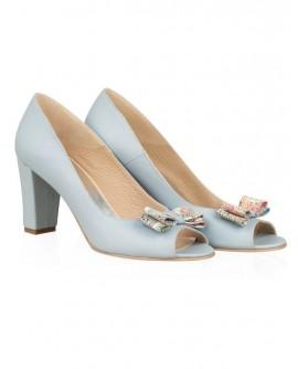 Pantofi din piele naturala N77 - orice culoare