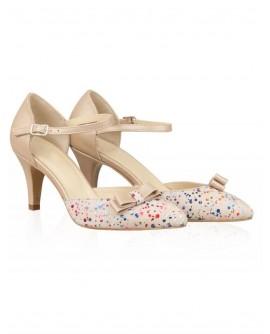 Pantofi din piele naturala N78 - orice culoare