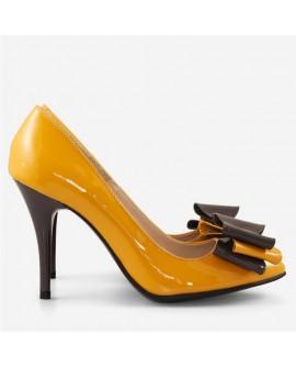 Pantofi dama din piele naturala D57 - orice culoare