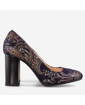 Pantofi dama din piele naturala D63 - orice culoare