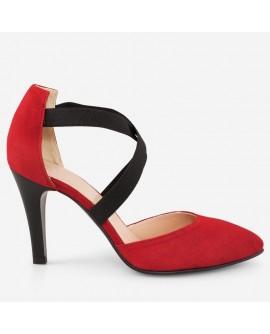 Pantofi dama din piele naturala D65 - orice culoare
