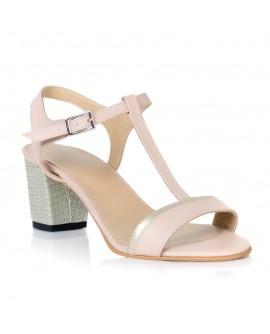 Sandale Piele Nude Comod Zeno T12  - orice culoare