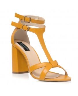 Sandale Piele Mustar Lolly Pop C11 - orice culoare