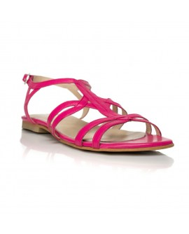 Sandale dama talpa joasa C1 Roz - orice culoare