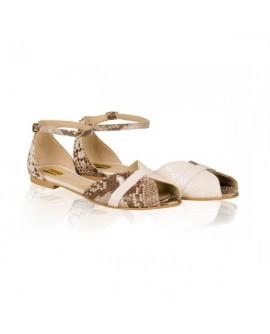 Sandale Piele Talpa Joasa Snake N1 - orice culoare