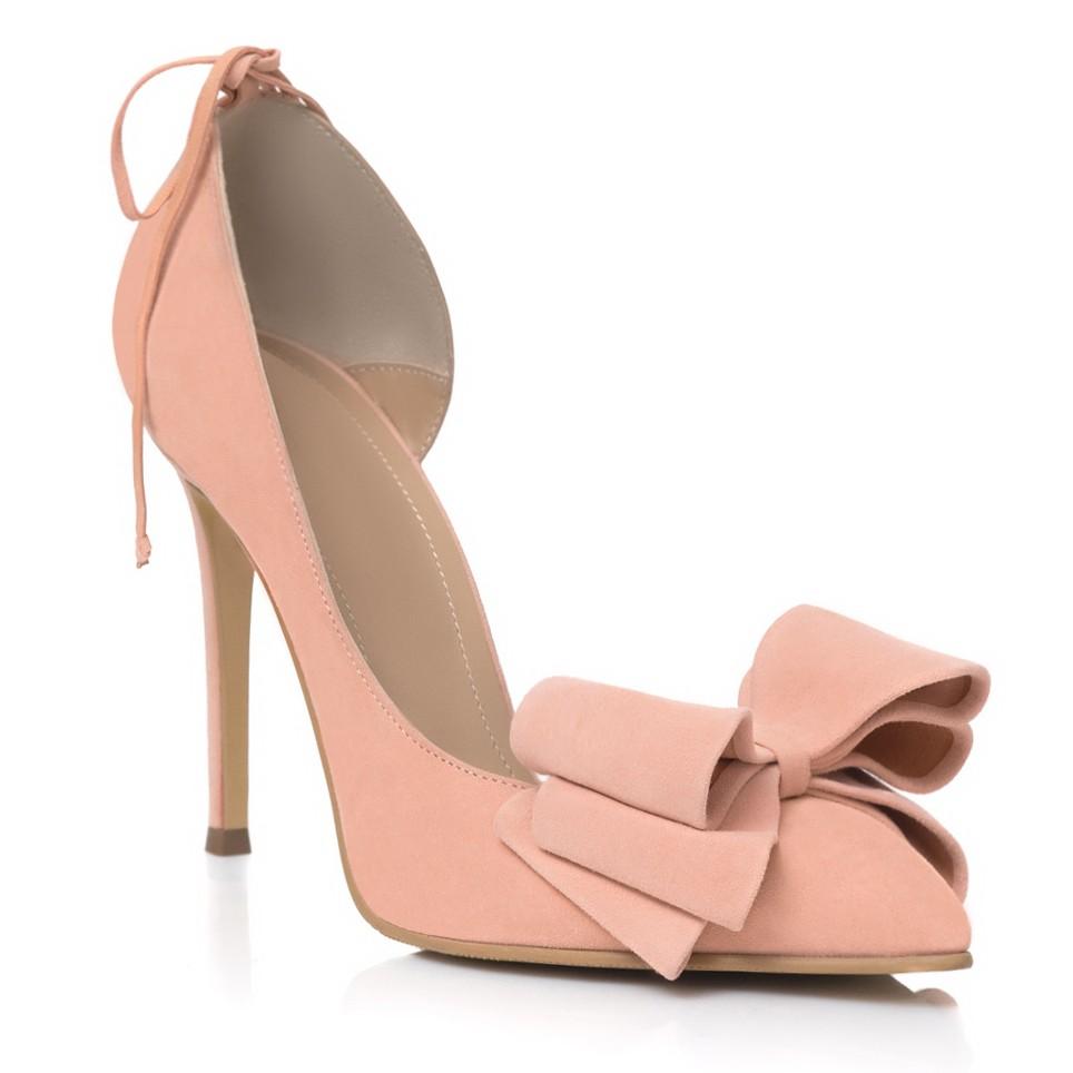 Pantofi Stiletto Piele Nude Funda Mare L36 - orice culoare
