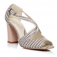 Sandale piele naturala Moni Carouri - Orice culoare