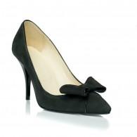 Pantofi Stiletto Fundita piele Negru C18  - orice culoare