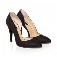 Pantofi Dama Rennes Negru - orice culoare