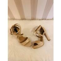 Sandale Dama Piele Clara nude  C7 - pe stoc