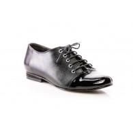 Pantofi Oxford 9 piele negru - orice culoare