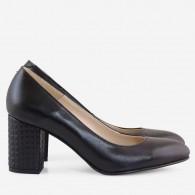 Pantofi Dama Piele Negru Comod D50 - orice culoare
