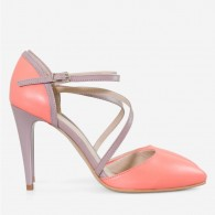 Pantofi Stiletto Piele Corai Virginia D60 - orice culoare