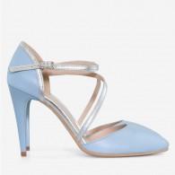 Pantofi Stiletto Piele Bleu Virginia D60 - orice culoare