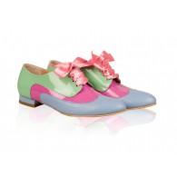 Pantofi Dama Oxford Piele Lacuita Varmi N11 - orice culoare