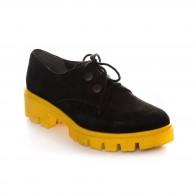 Pantofi Piele Intoarsa Renya V49  - orice culoare