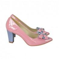 Pantofi Dama D85 Piele Naturala - orice culoare
