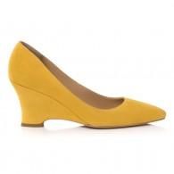 Pantofi Piele Intoarsa Cu PLatforma E9 - orice culoare