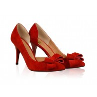 Pantofi Stiletto Diva Piele Rosu N50 - orice culoare