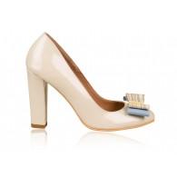 Pantofi dama piele Nude N1  - orice  culoare