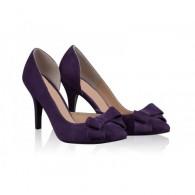 Pantofi Stiletto Diva Piele Mov N50 - orice culoare