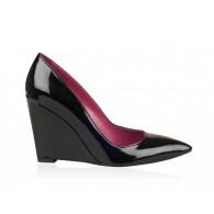 Pantofi Piele Lacuita cu Platforma N20 - orice culoare