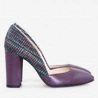 Pantofi Dama Piele Mov Venice D57 - orice culoare