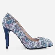Pantofi stiletto piele naturala D35 - orice culoare