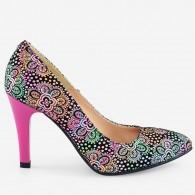 Pantofi piele naturala D52 - orice culoare